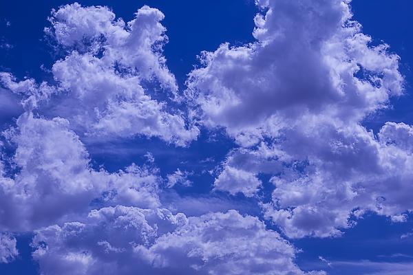 Cloud Watching Print by Garry Gay