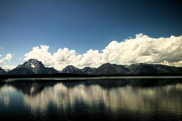 Jeff  Swan - Clouds In The Grand Tetons