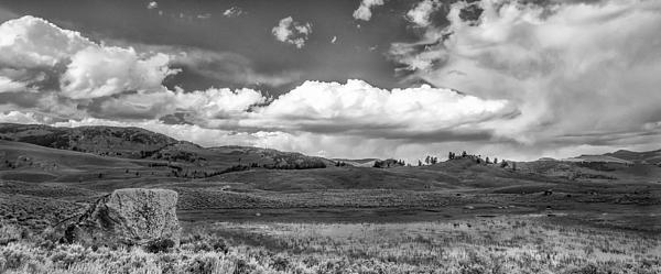 Clouds On The Plain Print by Jon Glaser