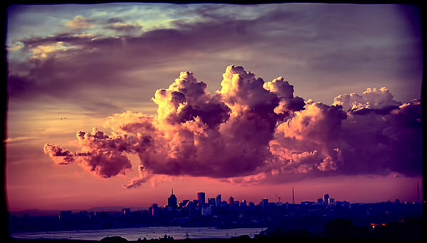 Clouds Rolling Print by Andrei SKY