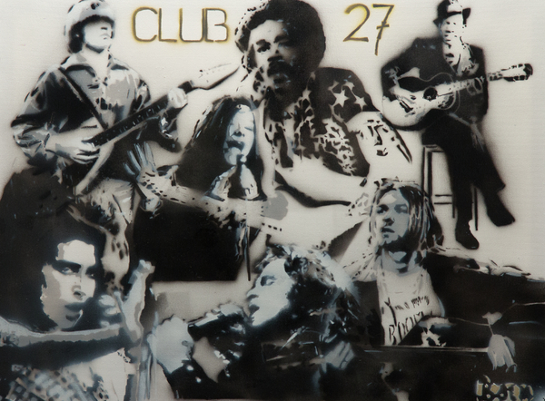 Club 27 Print by Barry Boom