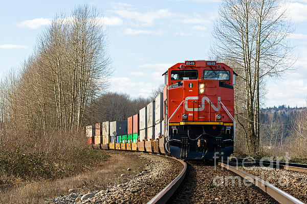 Michael Russell - CN Rail Cargo Train