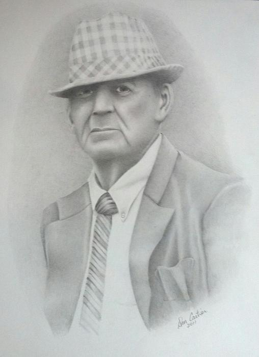 Coach Print by Don Cartier
