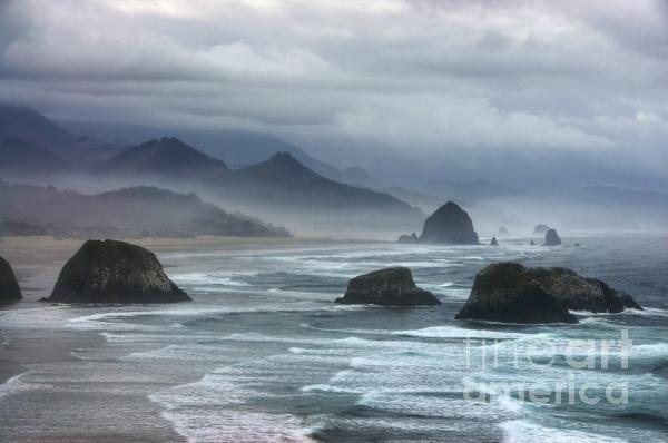 Coast Of Dreams 4 Print by Mel Steinhauer