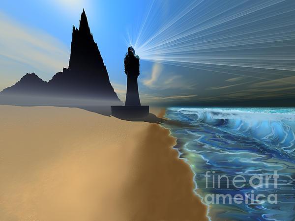 Coastline Print by Corey Ford