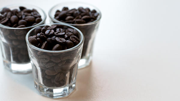 Coffee Beans Print by Gavin Lewis