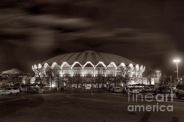 Coliseum At Night Toned Print by Dan Friend
