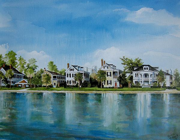 Gloria Turner - Colonial Lake in Charleston