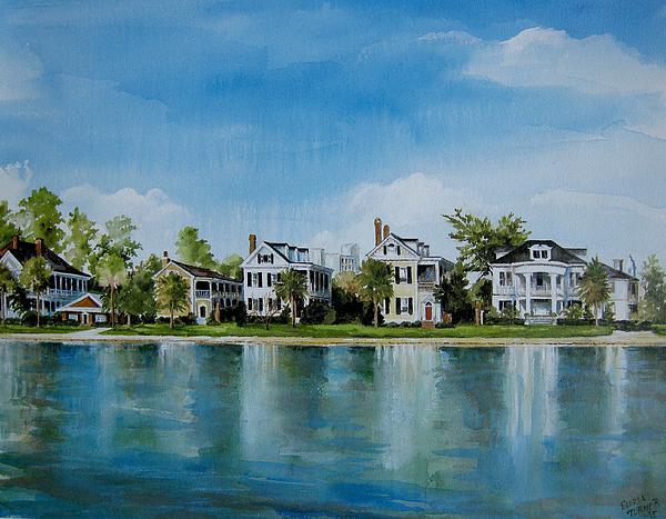Gloria Turner - Colonial Lake in Charleston