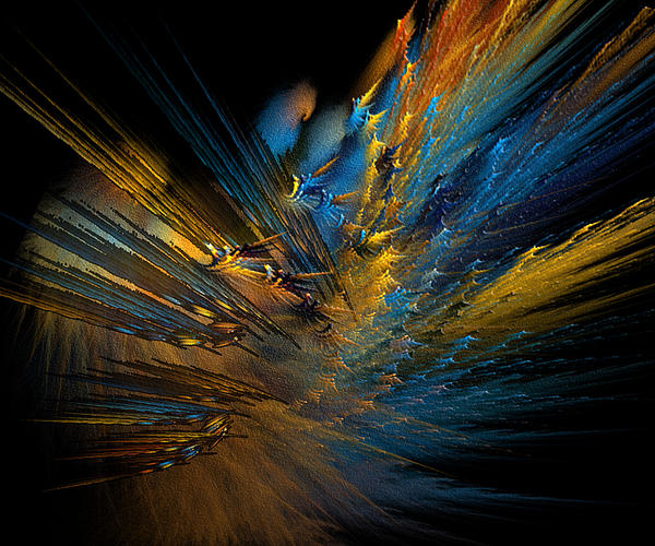 Color Explosion Print by Camille Lopez
