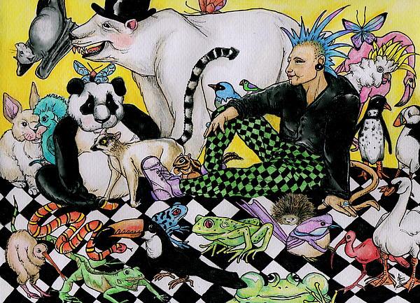 Color Scheme Print by Julie McDoniel