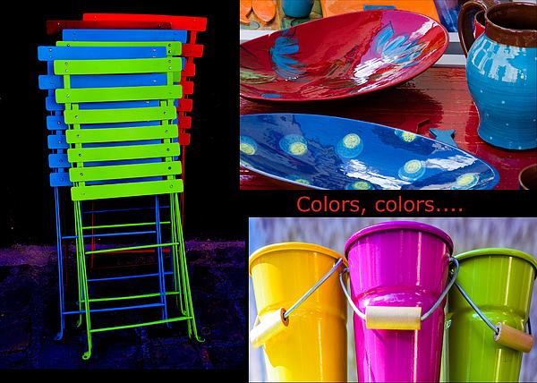 Color Your Life 1 Print by Dany  Lison
