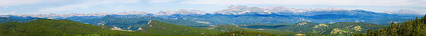 Colorado Continental Divide Panorama Hdr Print by James BO  Insogna