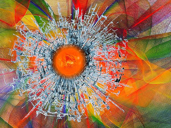Gabriella Weninger - David - Colorful Abstract