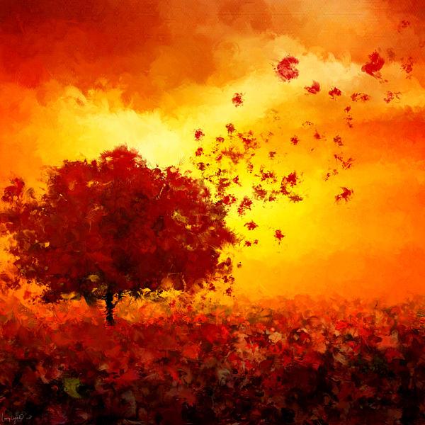 Colors Hymn Print by Lourry Legarde