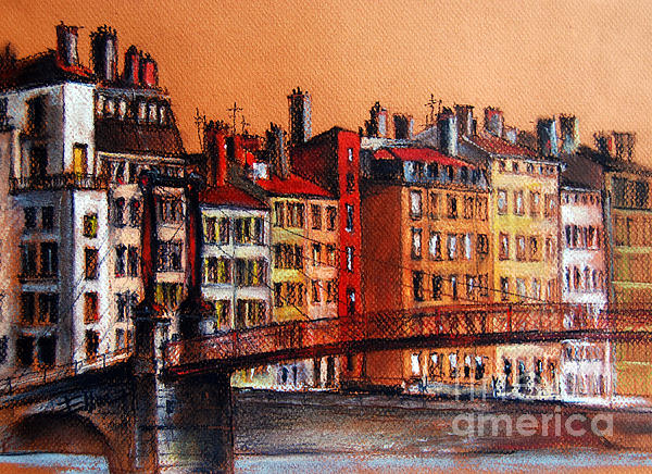 EMONA Art - Colors Of Lyon I
