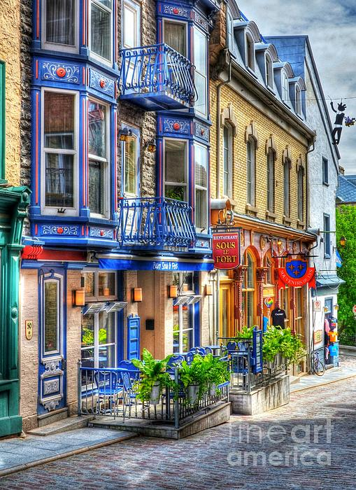 Colors Of Quebec 15 Print by Mel Steinhauer