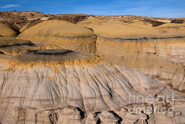 Colors Of The Badlands Print by Vivian Christopher