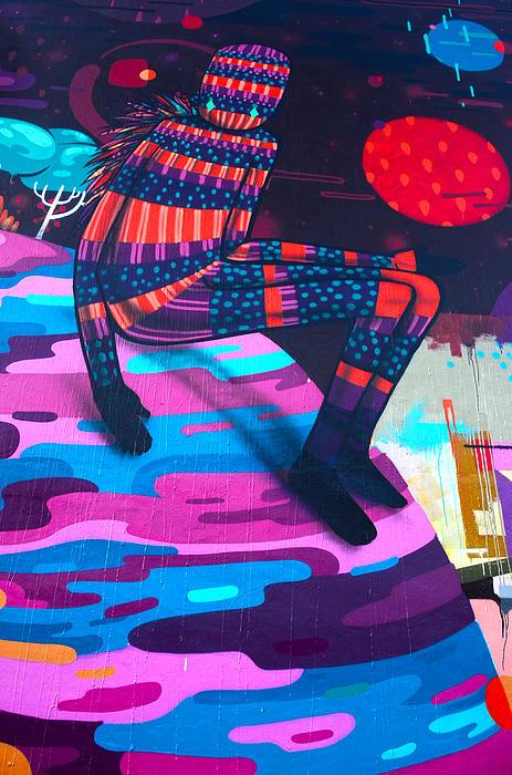 Colors Revolution Print by Laura Jimenez