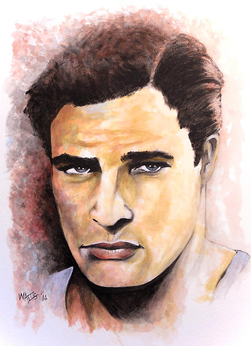 Coluda' Been A Contender - Brando Print by William Walts