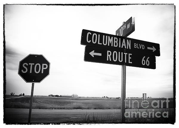 Columbian Boulevard Print by John Rizzuto