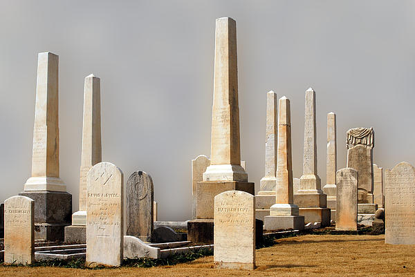 Stone Cemetery Columns : Columns and headstones oakland cemetery atlanta georgia