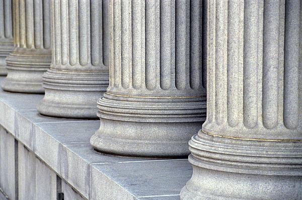 Columns Print by Jon Neidert