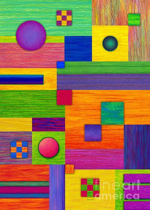 Combination Print by David K Small