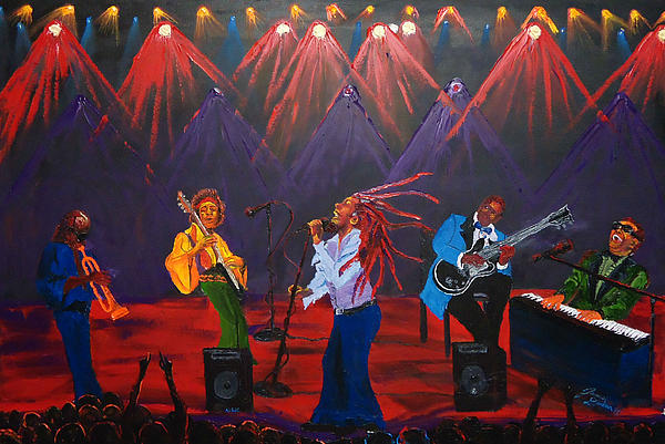 Concert Of All Concerts Print by James Dunbar