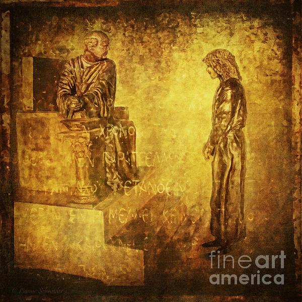 Condemned Via Dolorosa1 Print by Lianne Schneider