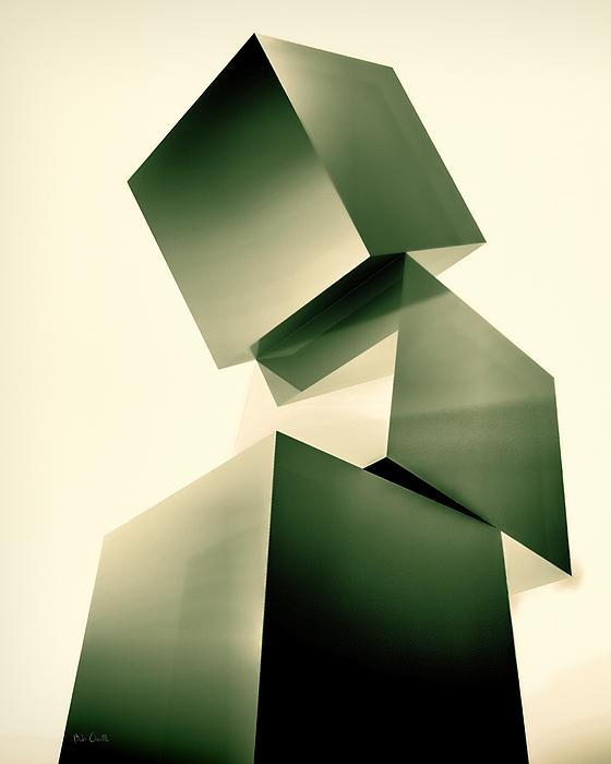 Condescending Cubes Print by Bob Orsillo