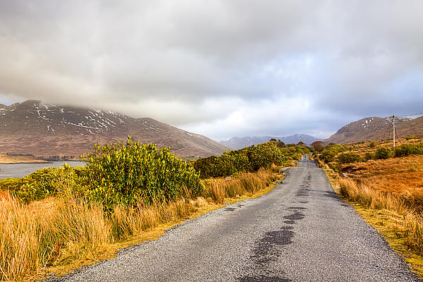 Connemara Roads - Irish Landscape Print by Mark Tisdale