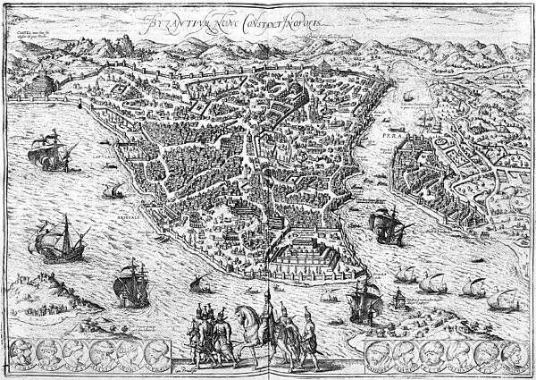 Constantinople, 1576 Print by Granger