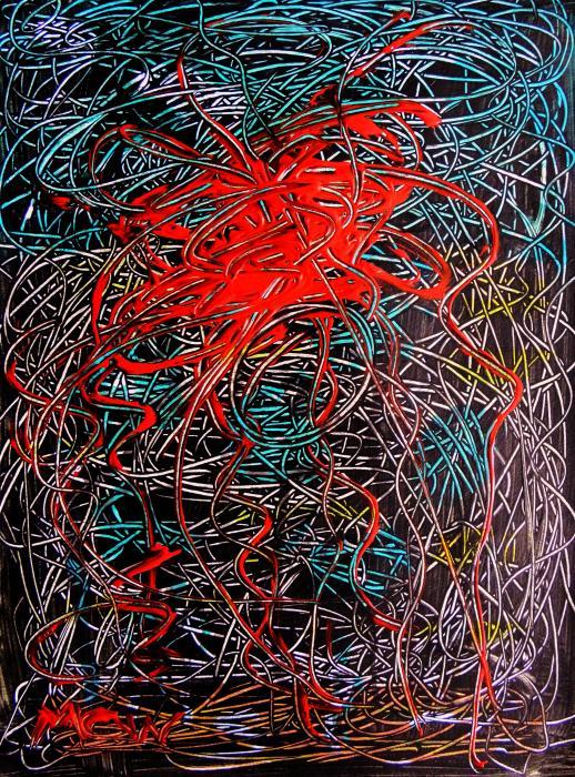 Constellation 10-10-10 Print by Mary Carol Williams