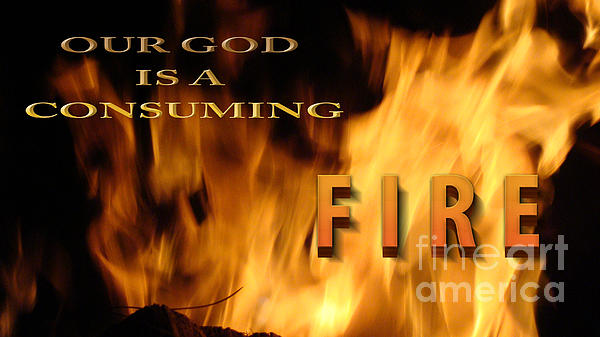 Consuming Fire Print by Beverly Guilliams