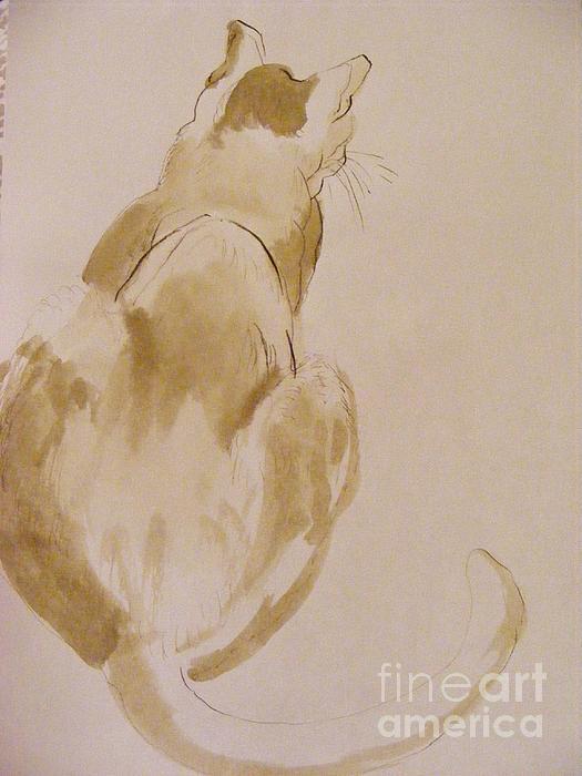 Coo Coo Michelle Print by Nancy Kane Chapman