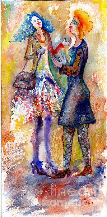 Coquette Print by Milen Litchkov