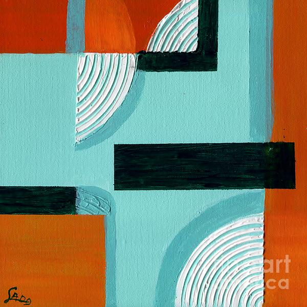 Corners Print by Susan Sadoury