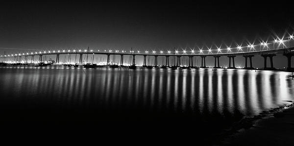 Coronado Bay Bridge Print by Ryan Weddle