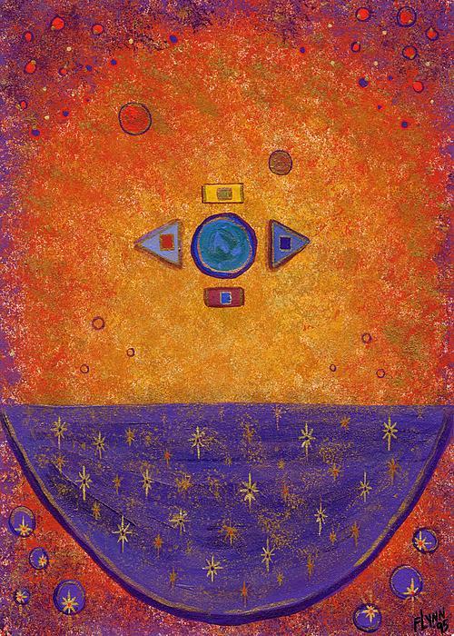Cosmic Cauldron Print by Tharsis  Artworks