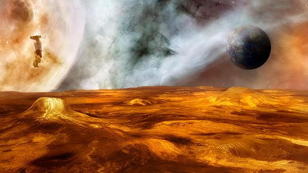 Cosmic Heat Print by Bill  Wakeley