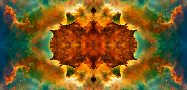 Cosmic Kaleidoscope 2  Print by The  Vault - Jennifer Rondinelli Reilly