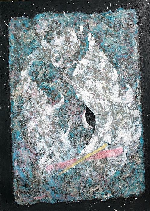 Cosmic Keyhole Print by Asha Carolyn Young