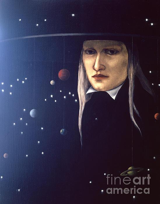 Cosmic Pilgrim Print by Jane Whiting Chrzanoska