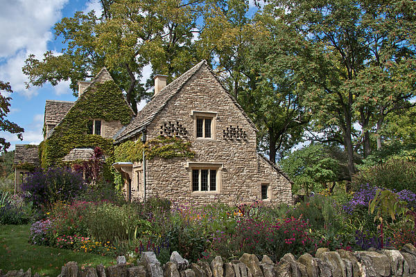 Cotswold Cottage By Aileen Mozug