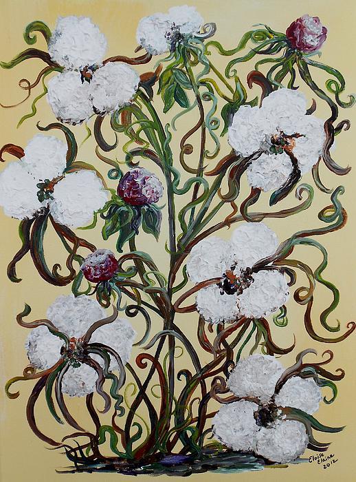Cotton #1 - King Cotton Print by Eloise Schneider