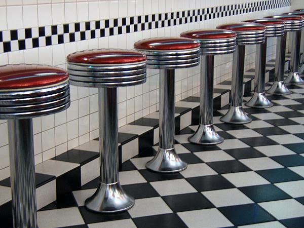 Alan Thwaites - Counter Seats