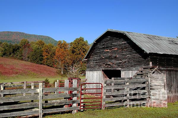 Country Barn Print by Jeff McJunkin