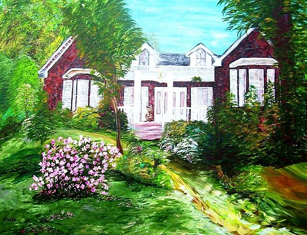 Country Estate Print by Eloise Schneider