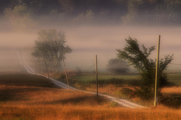 Country Road Print by Jim Vance